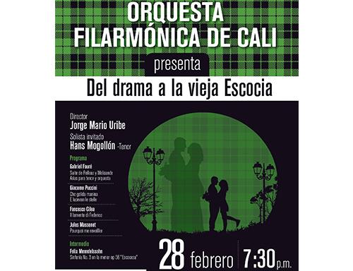 Segundo concierto Orquesta Filarmónica de Cali